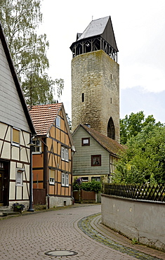 The Tylenturm tower, Korbach, Hesse, Germany, Europe
