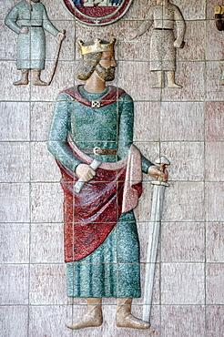 King Magnus VI., Hakonsson, Lagabote, Thing house, Trondheim, Norway, Scandinavia, Europe