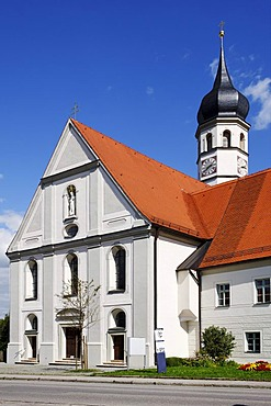 Former convent of the Regular Canons Beyharting, Upper Bavaria, Germany, Europe