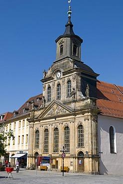 Hospital Church in Maximilianstrasse in the centre of Bayreuth, Franconian Switzerland, Franconia, Bavaria, Germany, Europe