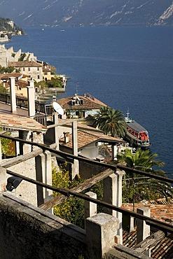 Limone sul Garda coastline, Lake Garda, Italy, Europe