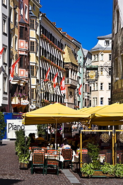 Old town of Innsbruck, Tyrol, Austria, Europe