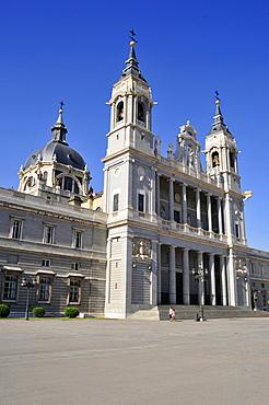 Catedral Nuestra Senora de la Almuneda Cathedral, Madrid, Spain, Iberian Peninsula, Europe