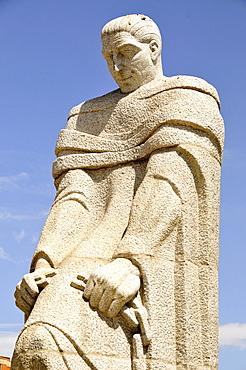 Monument to Jose Calvo Sotelo, Plaza Castilla, Madrid, Spain, Iberian Peninsula, Europe