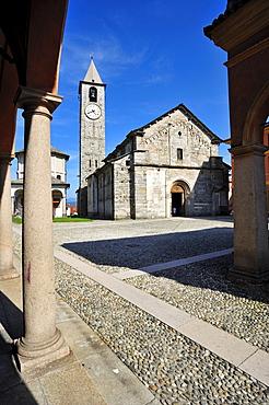 Church of St. Gervasio and Protasio, Baveno, Lake Maggiore, Piedmont, Italy, Europe