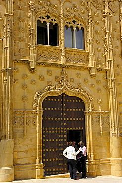 Jabalquinto Palace, 16th century, Baeza, Jaen province, Andalusia, Spain, Europa