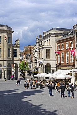 Grote Markt, main square, Leuven, Louvain, Brabant, Flanders, Belgium, Europe