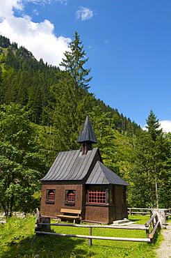 Hintersteiner Valley, Bad Hindelang, Allgaeu, Bavaria, Germany, Europe