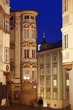 Pharmacist's House in the historic town centre, Linz, Upper Austria, Austria, Europe