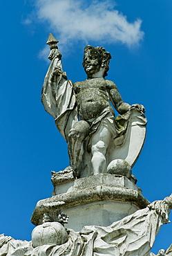 Sculpture, Karlsruhe Palace, Baden State Museum since 1921, Karlsruhe, Baden-Wuerttemberg, Germany, Europe