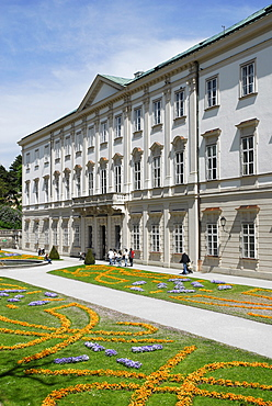 Schloss Mirabell Palace, Mirabellgarten palace gardens, Neustadt district, Salzburg, Salzburger Land state, Austria, Europe