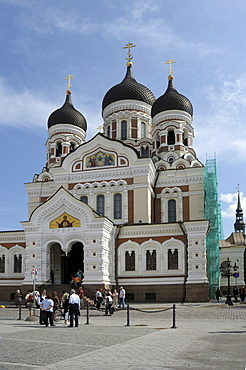 Alexander Nevsky Cathedral, Tallinn, Estonia, Europe