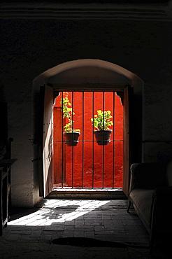 Cell, Santa Catalina monastery, Arequipa, Inca settlement, Quechua settlement, nunnery, Peru, South America, Latin America