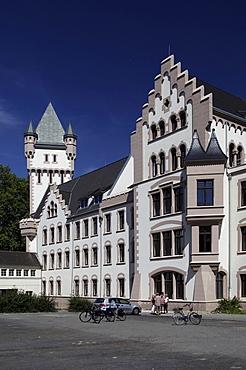 Hoerder Burg, former head office of the Hermannshuette smeltery, Hoerde, Dortmund, North Rhine-Westphalia, Germany, Europe