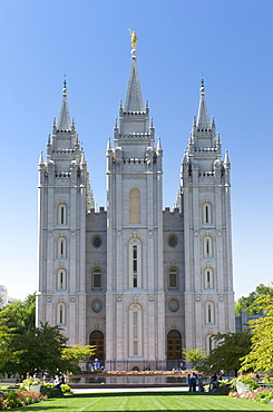 Salt Lake Temple of the Church of Jesus Christ of Latter-day Saints, Salt Lake City, Utah, USA