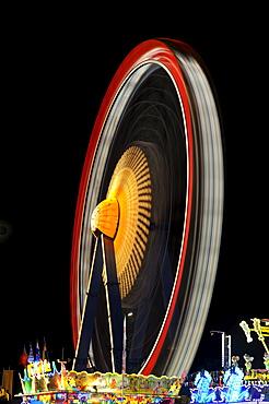 Ferris wheel at Oktoberfest, Munich, Bavaria, Germany, Europe
