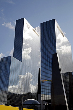 Office buildings in downtown Rotterdam, the Netherlands, Europe