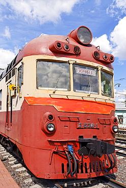 Soviet diesel train D1, built in 1973