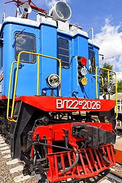 Soviet electric locomotive VL22m, built in 1958