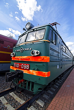 Russian electric locomotive VL10, built in 1974