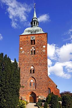 St. Nicolai church, Burg, Fehmarn island, Ostholstein district, Schleswig-Holstein, Germany