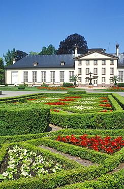 Parc de l'orangery in Strasbourg, park, Alsace, France, Europe