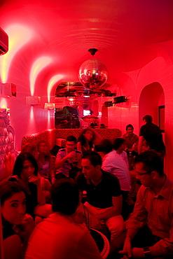 Morgana Bar, Nightclub, Lounge, nightlife in Taormina, province of Messina, Sicily, Italy, Europe
