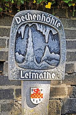 Dechenhoehle cave, Deutsches Hoehlenmuseum German cave museum, Letmathe, Iserlohn, Sauerland, North Rhine-Westphalia, Germany, Europe