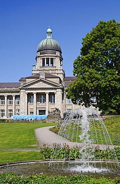 The Hanseatic Oberlandesgericht Higher Regional Court Hamburg, Sievekingplatz, Germany, Europe