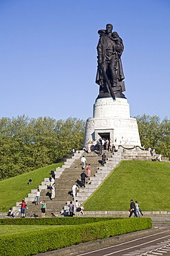 Soviet memorial in Treptow Park, Berlin, Germany, Europe