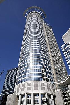 DZ Bank building, Kronenhochhaus skyscraper, banking quarter, Frankfurt/Main, Hesse, Germany, Europe
