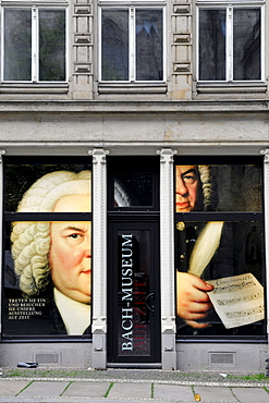 Exhibition Bach Museum, Leipzig, Saxony, Germany, Europe