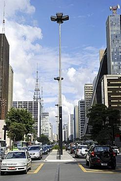Avenida Paulista, Sao Paulo, Brazil, South America