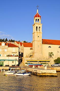 Church Sveti Ivan, Sutivan, Island Brac, Dalmatia, Croatia, Balkans, Europe