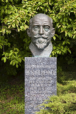 Dr. Karl Renner memorial, Graz, Styria, Austria, Europe