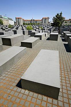 Memorial to the murdered Jews in Europe, Berlin, Germany, Europe