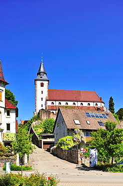 Liebfrauenkirche Church of Our Lady, Gernsbach, Murgtal, Black Forest, Baden-Wuerttemberg, Germany, Europe