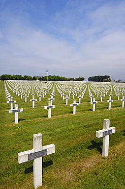 La Targette, British First World War Cemetery, Pas-de-Calais, Somme valley, France, Europe