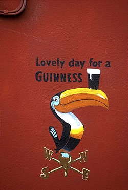 Guinness sign, Dingle, Kerry, Ireland