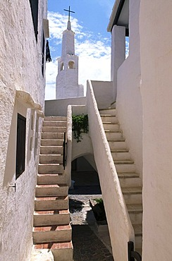 Holiday flats in Binibeca Vell, Minorca, Balearic Islands, Spain