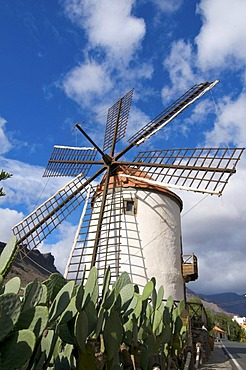 Windmill on Grand Canary, Canary Islands, Spain