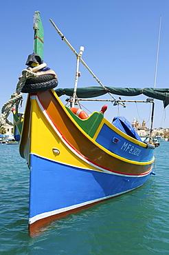 Fishing boat in Marsaxlokk, Malta, Europe
