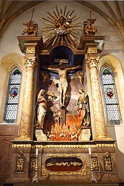Saxony Chapel in the pilgrimage church Maria Saal, Carinthia, Austria, Europe