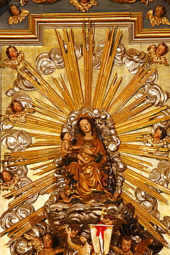Miraculous Madonna, pilgrimage church of Maria Saal, Carinthia, Austria, Europe