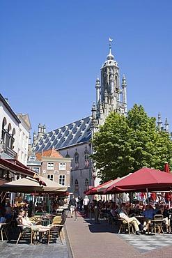 Stadhuis or City Hall, Middelburg, Zeeland, Netherlands