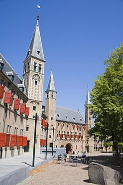 Onze Lieve Vrouwe Abdij, the Abbey of Our Lady, Middelburg, Zeeland, Netherlands