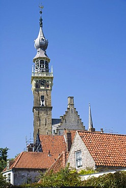 Stadhuis or City Hall, Veere, Zeeland, Netherlands