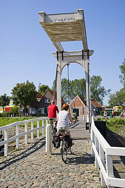 Koningin Beatrixbrug, Queen Beatrix Bridge, Veere, Zeeland, Netherlands