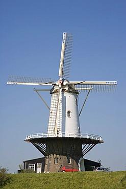 Mollen De Koe, The Cow flour mill, Veere, Zeeland, Netherlands