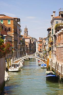 Fondamenta de Ca' Bala' from Ponte de Ca' Bala', Venice, Italy, Europe